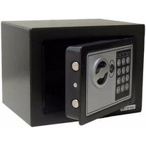 Cofre Eletrônico Digital Aço Teclado Senha + Chaves Parede