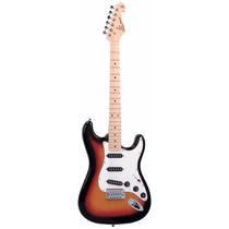 Guitarra Strato Sx American Alder Cor Sunburst - Sound Store