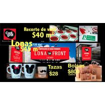 Lona Impresa Urgente $45.00 M2