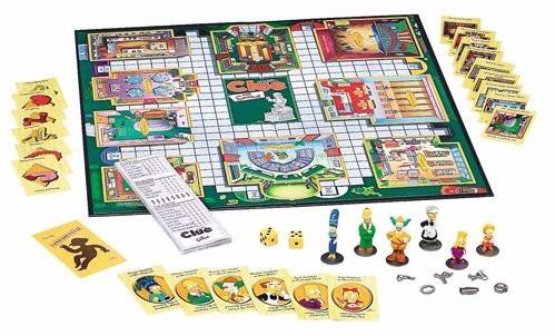 Clue Los Simpsons Original Juego De Mesa De Misterio Hasbro