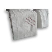 Servilletas De Papel Blancas Impresas Una Tinta Todo Evento