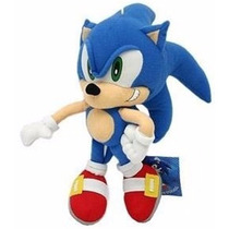 Pelúcia Sonic X Grande Sega Original Lacrado Pronta Entrega