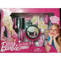Set Barbie Quiero Ser Estilista De 11 Pieza