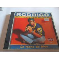 Cd Rodrigo Homenaje A Maradona + Cd Jean Carlos Renaciendo