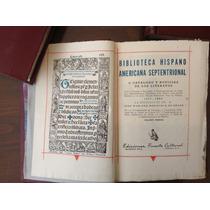 Beristain. Biblioteca Hispanoamérica. 5 Tomos. 500 Ejemplare