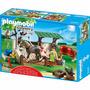 Playmobil 5225 Ducha Para Caballos Ponys Con Agua