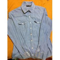 Camisa Jean Mujer, Lec Lee, Como Nueva!! $25.000