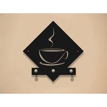 Portallaves Coffee Corte Laser Porta Llaves Postes Aluminio