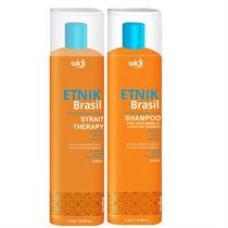 Escova Etnik - Shampoo E Gloss - Nova Embalagem