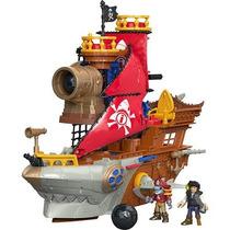 Navio Pirata Tubarão - Imaginext - Fisher-price