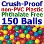 150 Pc Grande 3.1 Aplastar A Prueba De No-pvc Libre De Ftal