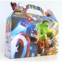 40 Valijitas Lego (lego Movie+batman+avenger+jurassic Parck)