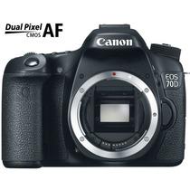 Camera Canon Eos 70d Corpo 20.2 Mp Full Hd - Canon Brasil