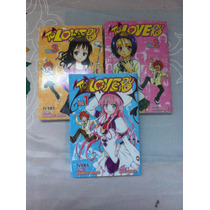 To Love Ru, Tomo 1-3, Editorial Ivrea