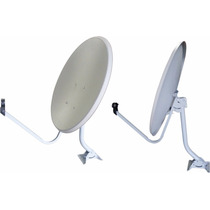Antena 60cm Parabólica Banda C Ou Banda Ku (02 Unidades)