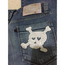 Calça Jeans Dopping 44 Caveira