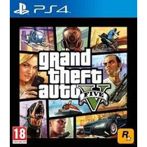 Gta V Grand Theft Auto 5 Ps4 Juego Original