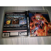 Ultimate Marvel Vs Capcom 3 Raridade Ps3