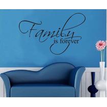 Vinilo Decorativo Frase Letras Familia Cuarto Casa Estudio
