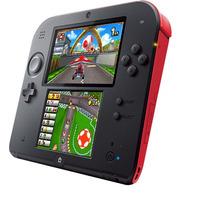Novo - Console Portatil Nintendo 2ds Vermelho