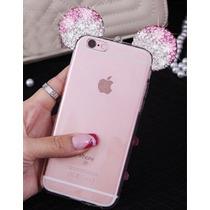 Iphone Case Mouse Orejas Joyas Iphone I6 S6