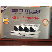 Kit De Seguridad Secutech, Hdmi, Incluye Dd500gb