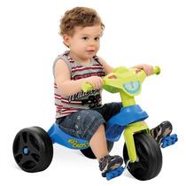 Triciclo Velotrol Carrinho Infantil Kid Cross Bandeirantes