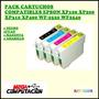 Pack 4 Cartuchos Epson Xp200 Xp100 Xp300 Compatibles Oferta