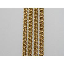 Cordão / Corrente Ouro 18k Maciço - Unisex - Malha Grumet