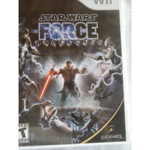 Jogo Star Wars The Force Unleashed Importado