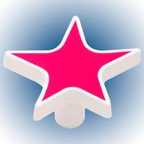 Boton Diseño Estrella Rosa Liberty