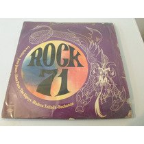 Rock 71 - Trio Galleta, Buchanan - Vinilo Argentino Promo