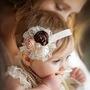 Tiara - Varios Modelos Elastico Colorido Fazer Tiaras Bebê