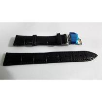 Pulseira Couro Fecho Deployant 22mm Tissot,rolex,omega,seiko