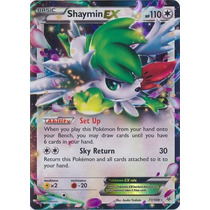 Cartas Pokemon Shaymin Ex Mint