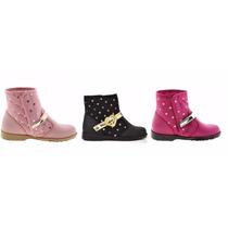 Bota Barbie Linha 2015 We Love Tam. 25 Ao 34 Rosa Pink Preta