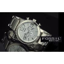Reloj Fossil Original. Modelo Bq1177 Metalico. Nuevo