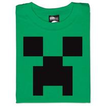 Polera Minecraft Creeper