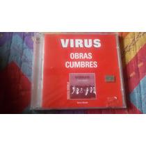 Cd Doble Virus Obras Cumbres Nuevo/sellado Descatalogado Exc