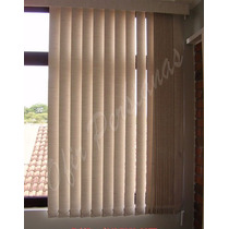 Cortinas Para Quarto Persiana Vertical Blackout -12x -m²