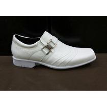 Sapato Masculino Couro Enfermagem Branco