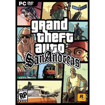 Grand Theft Auto San Andreas Gta Para Pc + Entrega Rápida