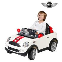 Carrito Electrico Montable Mini Cooper S Coupe Nuez