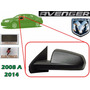 08-14 Dodge Avenger Espejo Electrico Corrugado Izquierdo