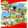 Kit Imprimible Mickey La Casa De Mickey Chivic Cumpleaños