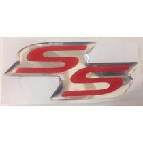 Par De Emblemas Ss Porta Astra Corsa Meriva Ss Super Sport