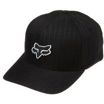 Gorra Fox Hombres De Legacy Hat Negro Tela Rayada, Small /