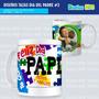 45 Plantillas Para Sublimar Estampar Mugs | Dia Del Padre |