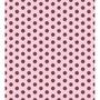 Papel Adesivo Contact Decorado 45cmx10m Poa Rosa E Marrom