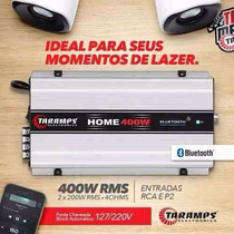 Módulo Amplificador Taramps Residencial Home 400 400w Rms